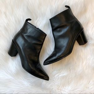 Acne Studios Loma Black Leather Boots 40